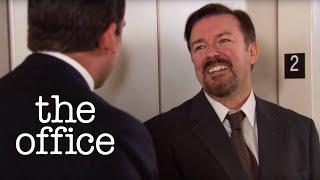 Michael Scott Meets David Brent - The Office US