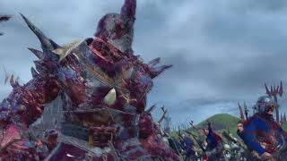 CHAOS UNDIVIDED Cinematic Battle- Total War:Warhammer 2
