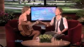 Taylor Swift and Ellen Degeneres Write a Song