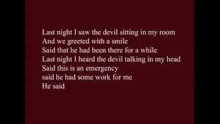 "Joe Budden ""devil In My Room"" Ft. Crooked I Lyrics Video"