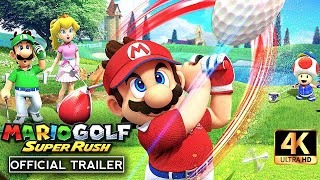 MARIO GOLF SUPER RUSH Official Announcement Trailer 4K UHD (2021) | Nintendo Switch by CinemaBox Trailers
