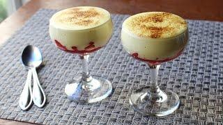Zabaglione - Italian Warm Custard & Fruit Dessert - Valentines Day Special!