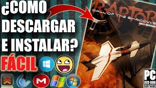 Descargar Raptor - Call of the Shadows 2010 Edition para PC Full En Español (Fácil)