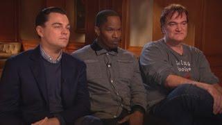 'Django Unchained': Tarantino, DiCaprio, Foxx Answer Critics