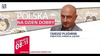 Profanacja Pomnika Chrystusa Przez środowiska LGBT - Tadeusz Płużański | Polska Na Dzień Dobry