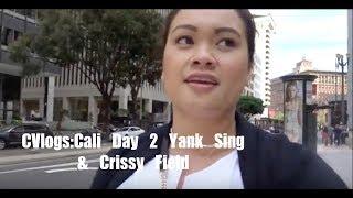 CVlogs: Cali Day 2 SF's Yank Sing & Crissy Field