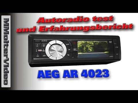 AEG AR 4023 Autoradio test und Erfahrungsbericht