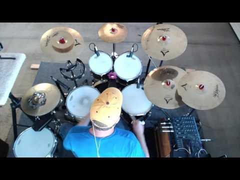 Journey  - Separate Ways - Drum Groove - Part 1