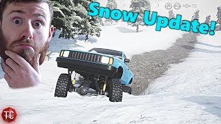 Pure Rock Crawling: SNOW UPDATE! NEW MAP GAMEPLAY