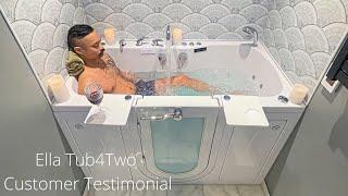Ella Tub4Two Customer Testimonial Review Video