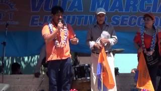 preview picture of video 'proclamacion con los Adultos Mayores - marcial rengifo ejecutivo seccional de yacuiba TPT'
