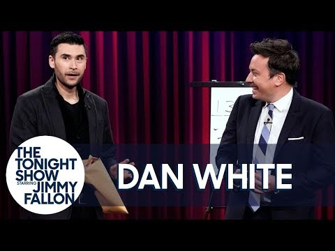 Dan White Turns Random Math into a Personalized Gift for Jimmy Fallon