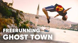 Freerunning a GHOST TOWN in Turkey