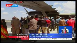 Checkpoint: Three of the fallen KDF soldiers buried in Isiolo today