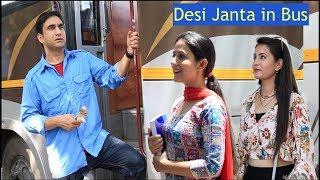 Types Of People In Desi Bus   | Lalit Shokeen Films |