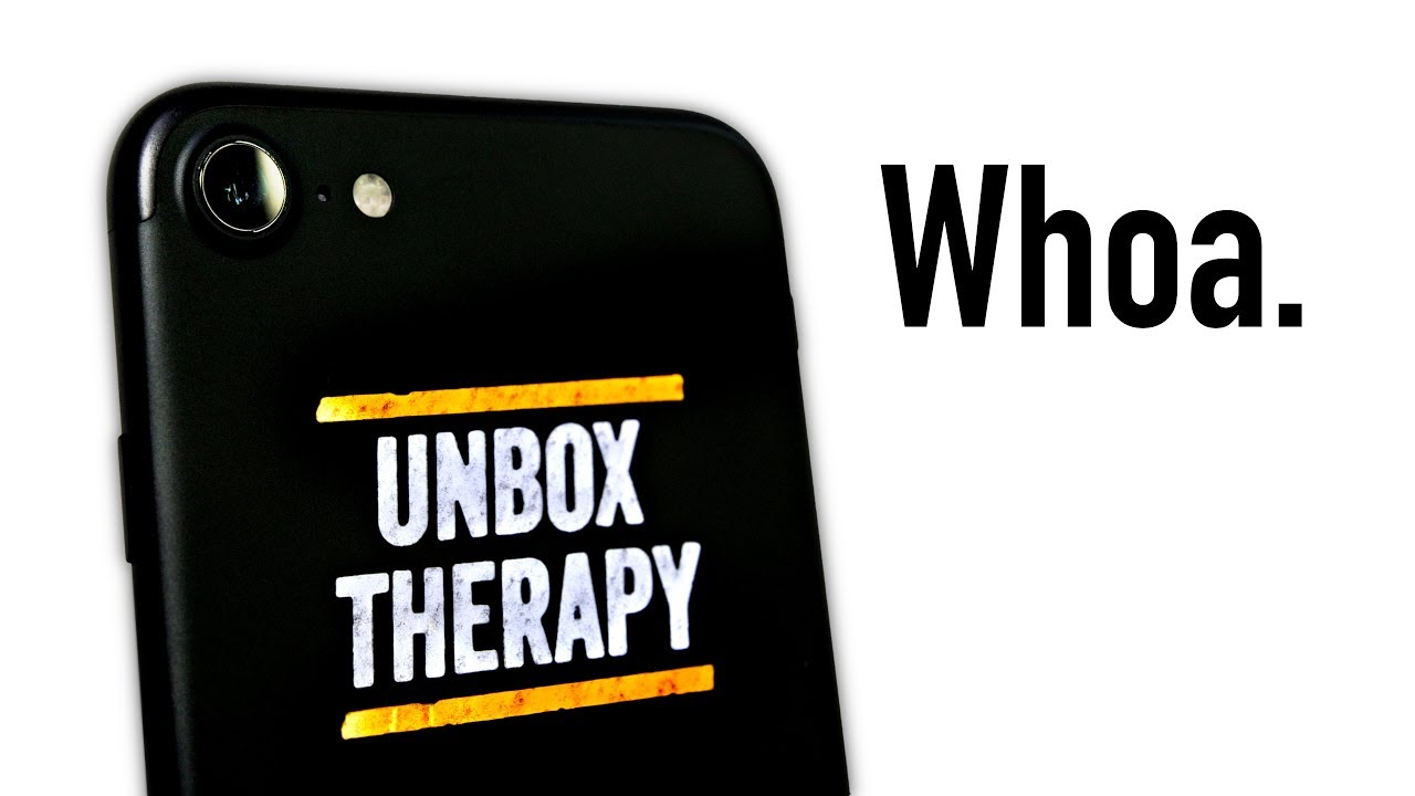 The Unbox Therapy Edition iPhone thumbnail