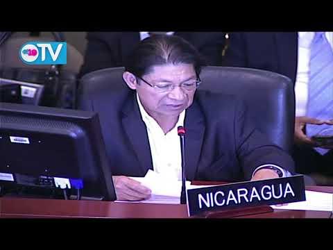 Nicaragua demanda a OEA que condene recrudecimiento de acciones terroristas
