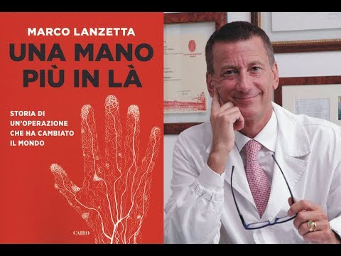 Marco Lanzetta * Una mano più in là (Cairo Editore)