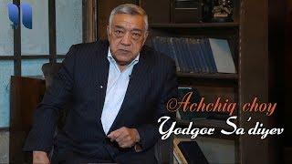 """Choy ustida - Yodgor Sa'diyev: Polat Alemdarni tanimayman, """"Qashqirlar makoni""""ni ko'rmaganman…"""