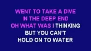 Cheryl Cole The Flood karaoke instrumental with lyrics