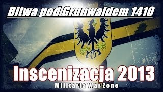 preview picture of video 'Bitwa pod Grunwaldem 1410- Inscenizacja/Grunwald 2013'