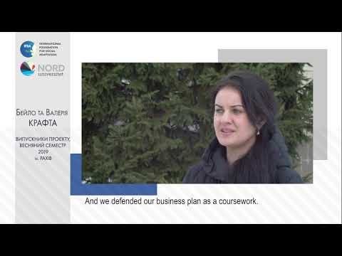 Відео-відгук випускників проекту «Норвегія-Україна» Бейло Крафта та Валерії Крафта