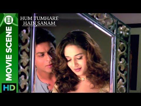 Shahrukh Khan proposes Madhuri Dixit - Hum Tumhare Hai Sanam