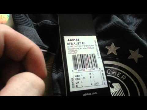 2016 Adidas DFB Germany Away Jersey Adizero