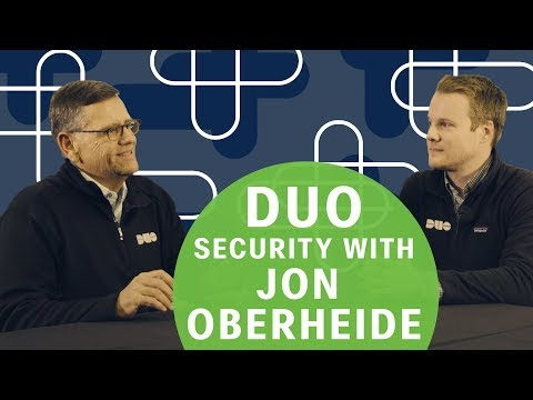 Cisco's David Goeckeler & Duo's John Oberheide talk cybersecurity