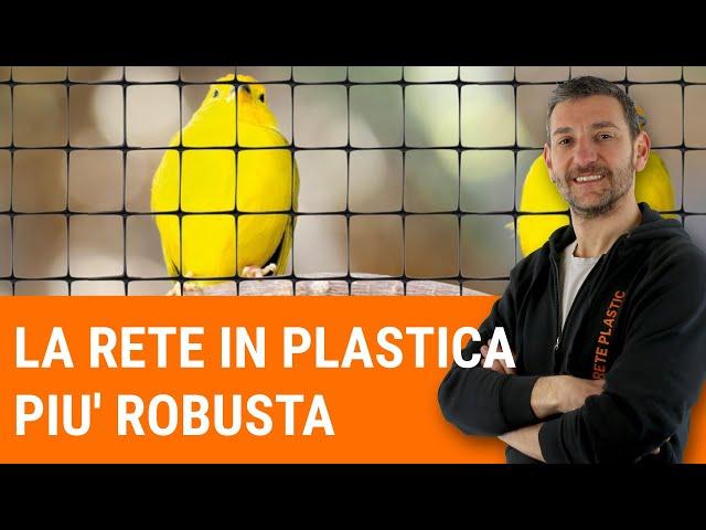La rete in plastica più robusta