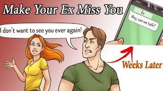 6 Steps To Make Your Ex Miss You After A Breakup | animated video