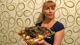 Басма - мясо тушеное с овощами узбекский рецепт