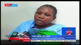 KTN Prime: Patients suffer as doctors' strike continues