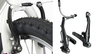 Тормоза v brake настройка, как настроить отрегулировать и установка на велосипед