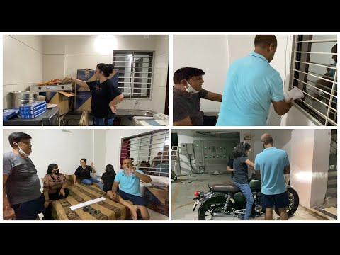 Unpacking Started   House to Home Journey Begins   Indian full family vlogs   neelam youtuber