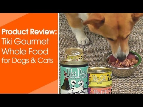 Tiki Dog Lomi Lomi Luau Wild Salmon & Chicken (2.8 oz) Video