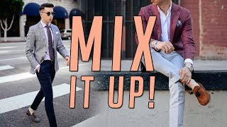 How To Mix And Match Suits || Mens Fashion Lookbook 2017 || Gents  Lounge