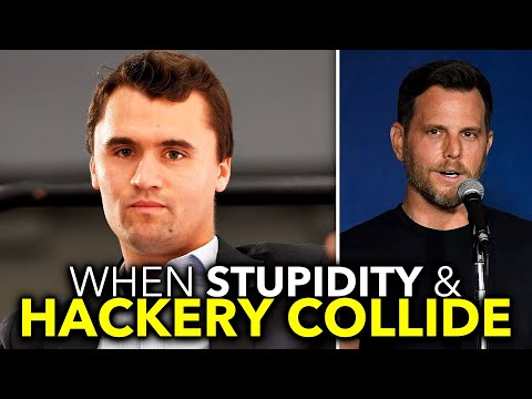 Charlie Kirk Urges People to Defy COVID Lockdowns, Dave Rubin Concocts COVID Conspiracy Theory