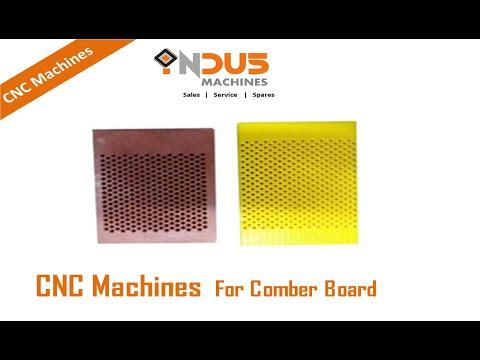Comber Board Drilling Machine