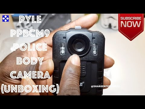Pyle PPBCM9 Compact Portable HD 1080p 8MP Police Body Camera (Unboxing)