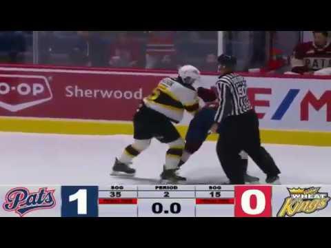 Braydon Buziak vs. Schael Higson