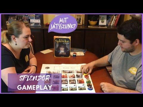 Splendor Játékparty (Gameplay) - Mit Játsszunk?