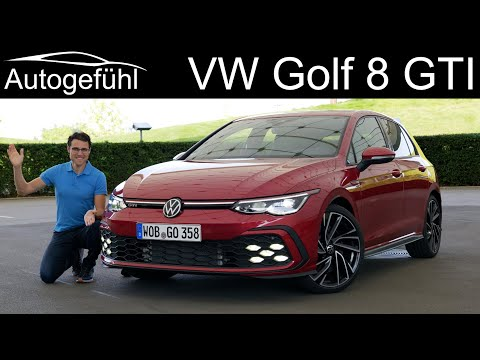 VW Golf 8 GTI FULL REVIEW - driving the Mk8 Golf GTI 2021 - Autogefühl
