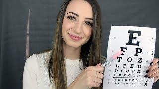 [ASMR] Eye Exam Nurse Roleplay
