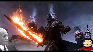 Skyrim mod: Пепельная броня - Dark Souls 3