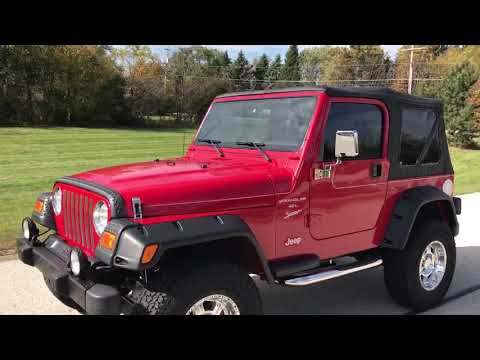 2000 Jeep® Wrangler Sport in Big Bend, Wisconsin - Video 1