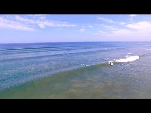 Seaford fun sets shot by drone