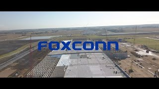 First-hand look at the roof installation of Foxconn's nearly 1,000,000 square-foot advanced manu