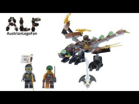 Vidéo LEGO Ninjago 70599 : Le dragon de Cole