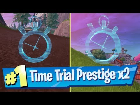 Complete a time trial North of Lucky Landing or East of Snobby Shores (Location) - Fortnite